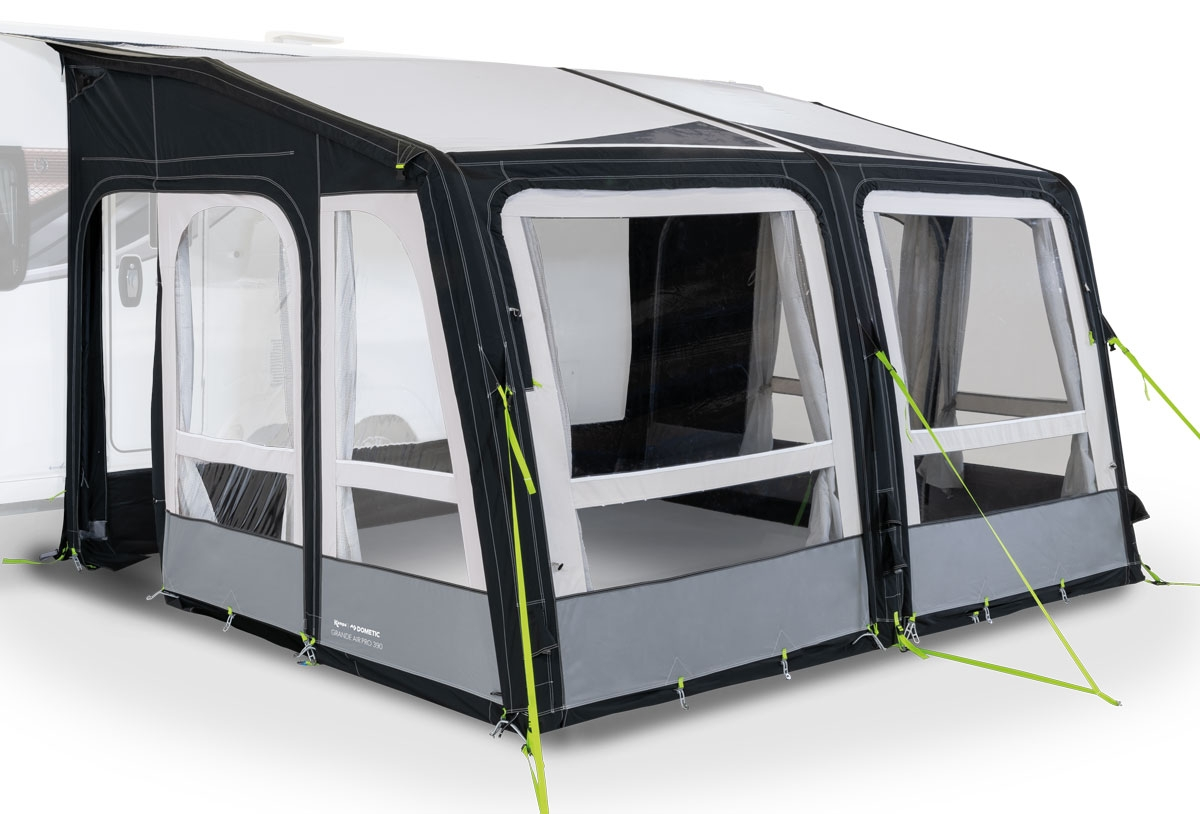 2020 Kampa Grande Air Pro 330 zip out Svemor Fritidssenter